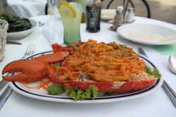 Lobster tagliatelle