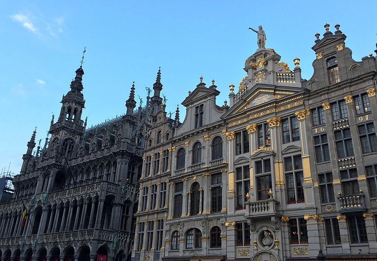 The Grand Place's 17th century architecture