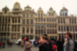 Free guided tour started from Grand Place square