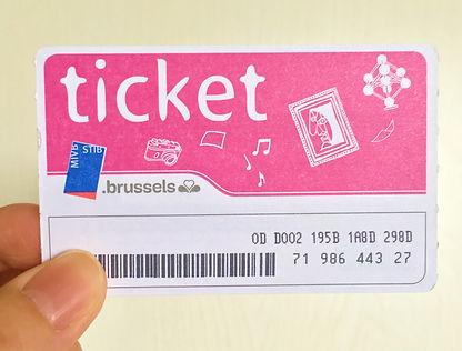 24h STIB-MIVB ticket