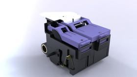 Desarrollo de ingenieria inversa. Carro de cartuchos de impresora.