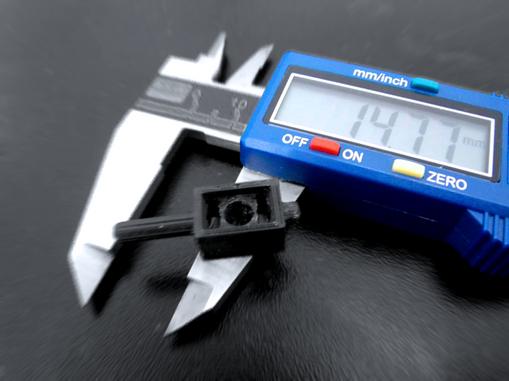 Prototipo en impresión 3D, pieza para motocicleta.