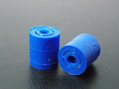 Tapa inviolable para jeringa. Producto final, inyección de polipropileno.
