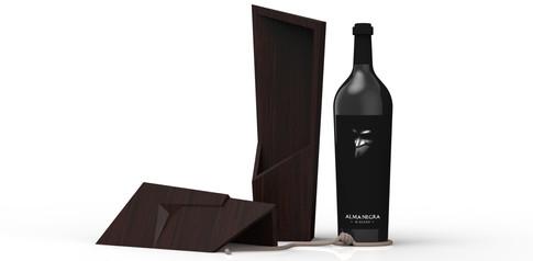 Desarrollo de packaging. Estuche para vino.