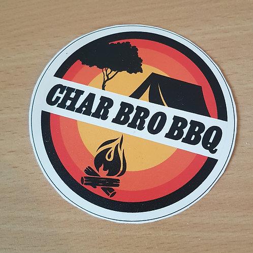 Char Bro BBQ Sticker - Large