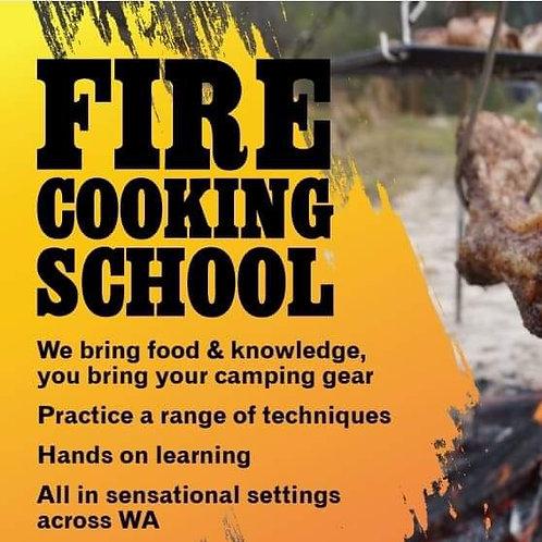 Fire Cooking School Gift Voucher - Summer Edition