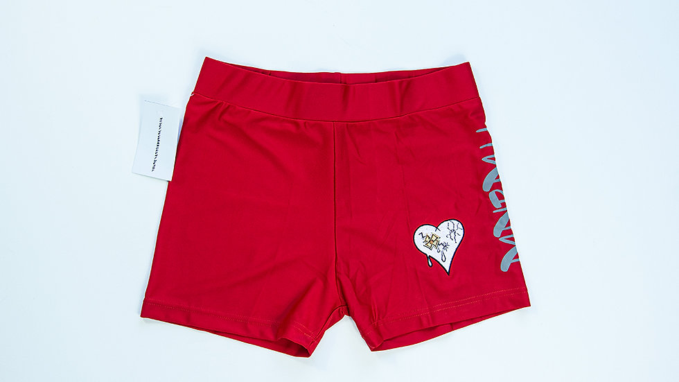 MNMBH Female shorts  Red