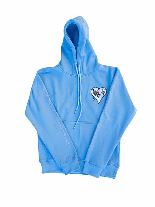 MNBMH  3M Baby Blue Hoodie