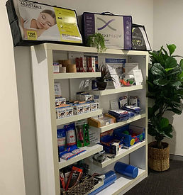 Products for sale at Wantirna Osteopathy