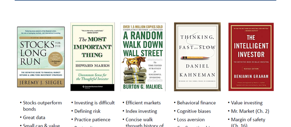Investment Philosophy in 5 Books