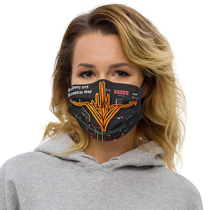 Heart Handstyle Face mask