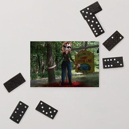 Jason Voorhees Standard Postcard
