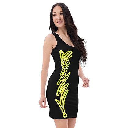 Vertical Handstyle Dress