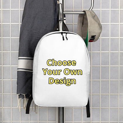 Choose Your Own Design Minimalist Backpack
