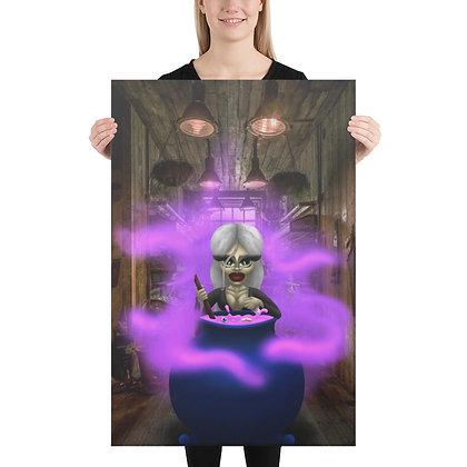 """""""Cauldron Bubble"""" Canvas"""
