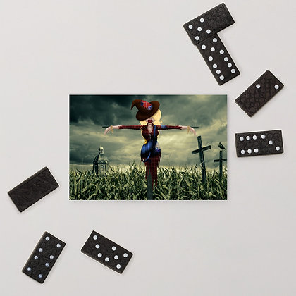 Scarecrow Standard Postcard