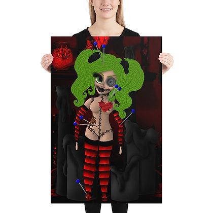 Voodoo Doll Print