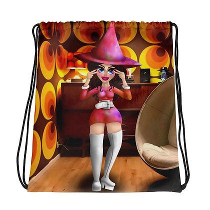 70s Witch Drawstring bag