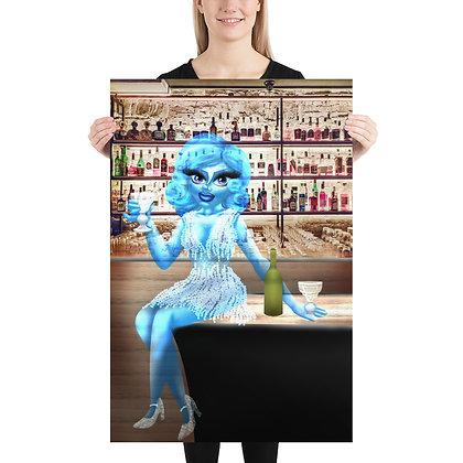 """The Blue Lady"" Print"