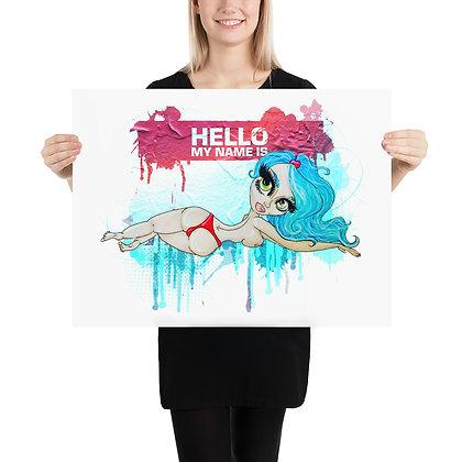 """Hello Dreamsicle"" Print"