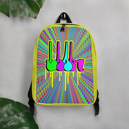 Dripping Bomb Minimalist Backpack