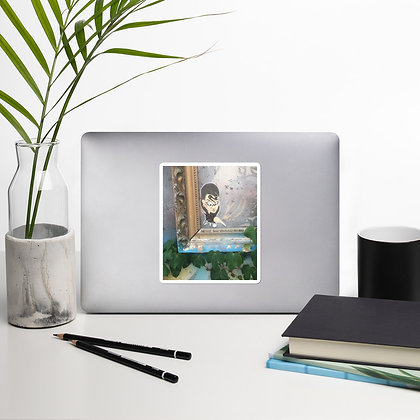"""""""Framed in Nature"""" Bubble-free stickers"""