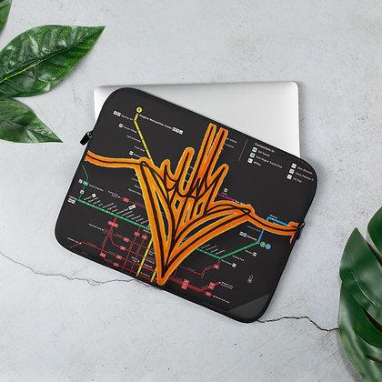 Heart Handstyle Laptop Sleeve