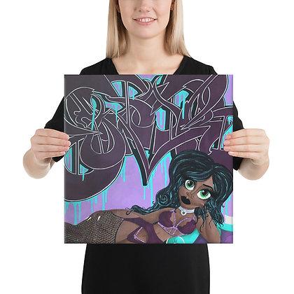 """""""Violet Seduction"""" Canvas"""