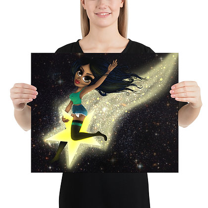 Shooting Star Print