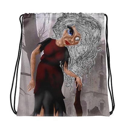 Baba Yaga Drawstring bag