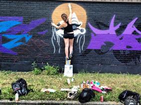 Balancing Act Action Shot