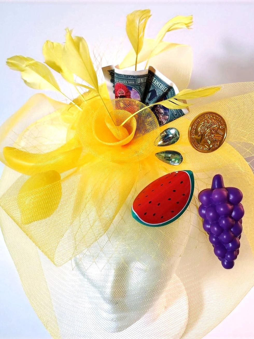 Yellow Melon Grape Money