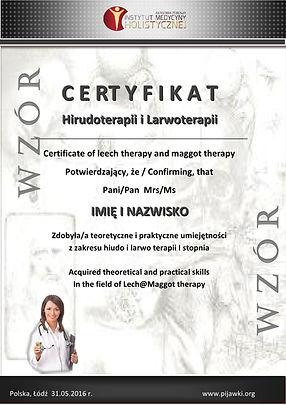 kursy hirudoterapii certyfikat