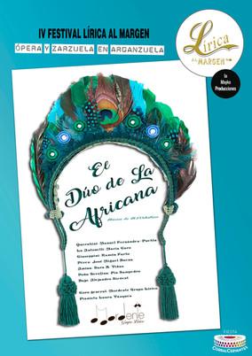 EL DÚO DE LA AFRICANA Zarzuela  Domingo 17/10 a 19:00h Fiesta Corral Cervantes
