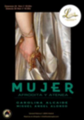 MUJER, AFRODITA Y ATENEA