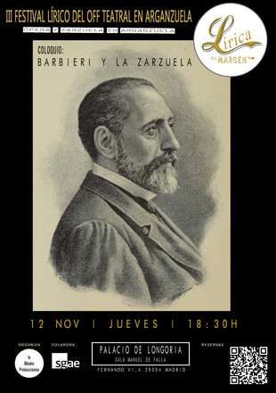 COLOQUIO BARBIERI Y LA ZARZUELA