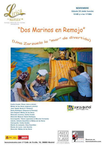 DOS MARINOS EN REMOJO