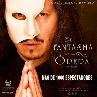 concierto fantasma de la opera