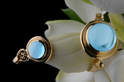 Heart of Water Pendant and Ring