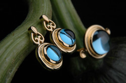 Heart of Water Ring and Earrings