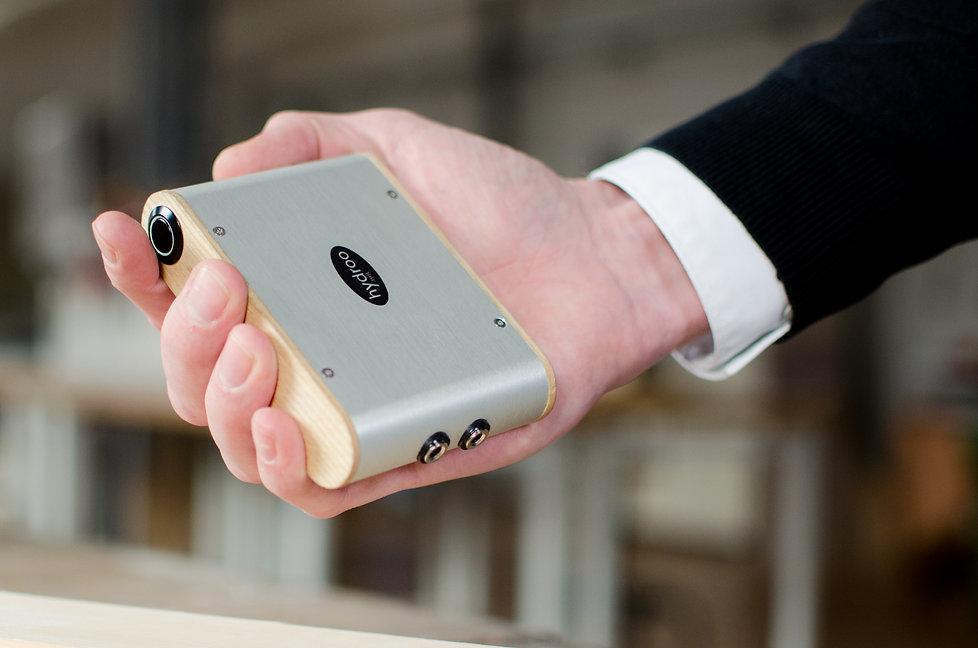 Professionelles Feuchtemessgerät für Holz und Baufeuchte, vgl. Gann Hydromette m2050