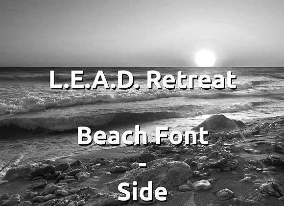 Lead Retreat, Staying in Beach Front - Side