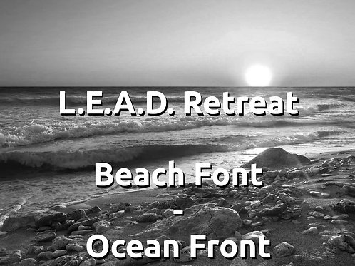 Lead Retreat, Staying in Beach Front - Ocean Front