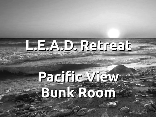 Lead Retreat, Staying in Pacific View Bunk Room