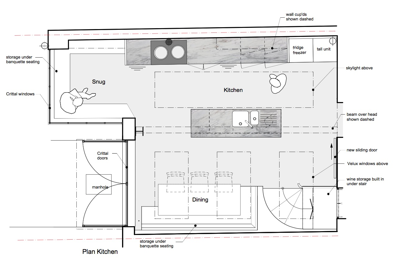 Plan Kitchen
