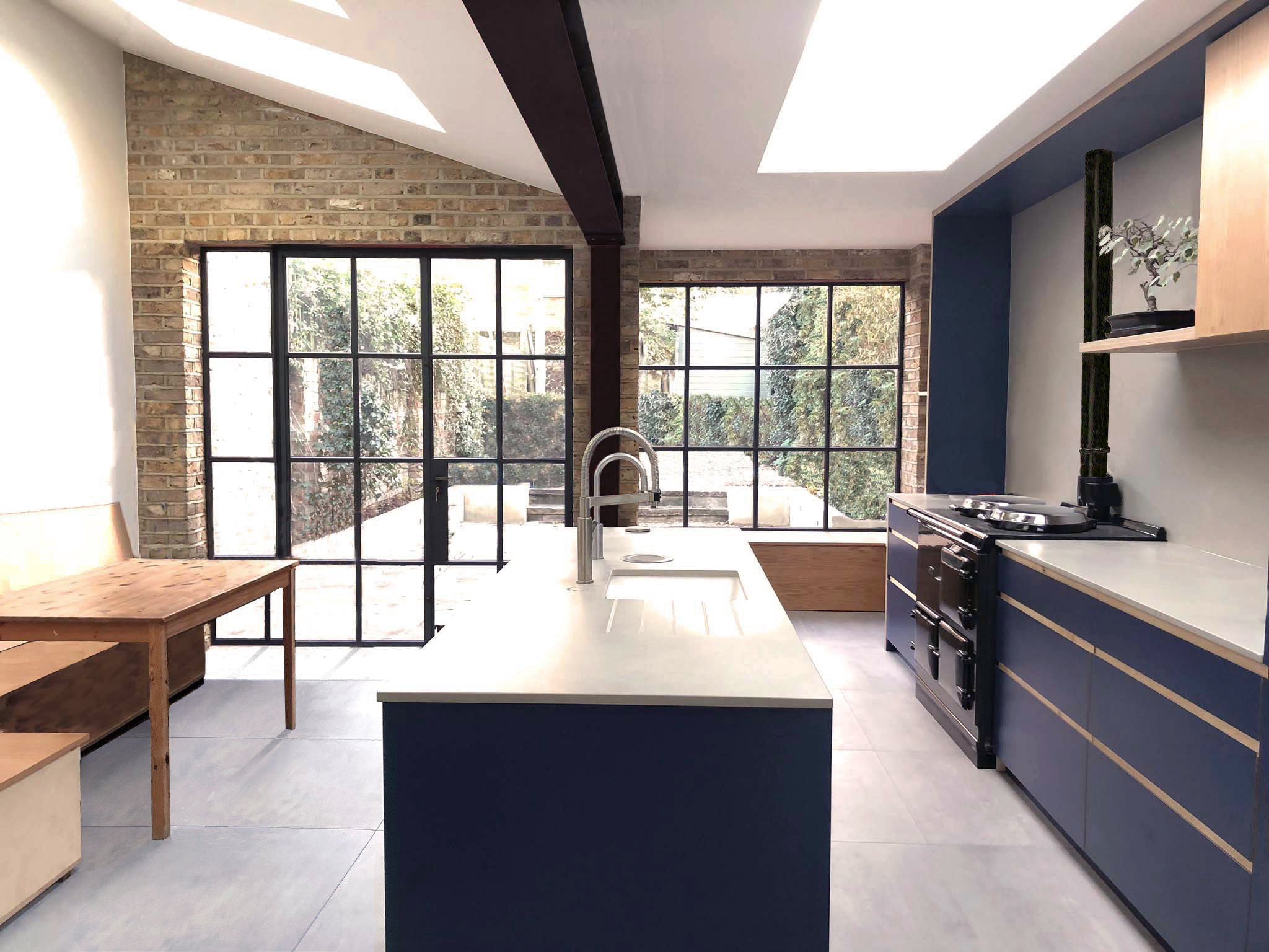 Kitchen Extension, De Beauvoir