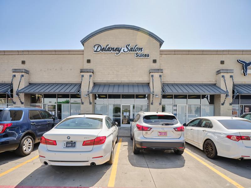 Suite 103 inside Delaney Salon Suites