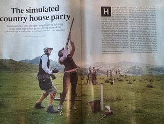 """""""The Simulated Country House Party"""""""