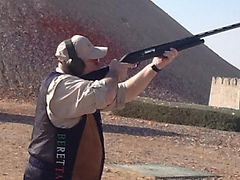 Keith Coyle, clay pigeon shooting, Beretta
