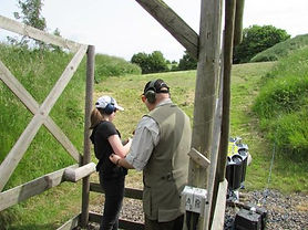 Keith Coyle Instructing Leah Jaques